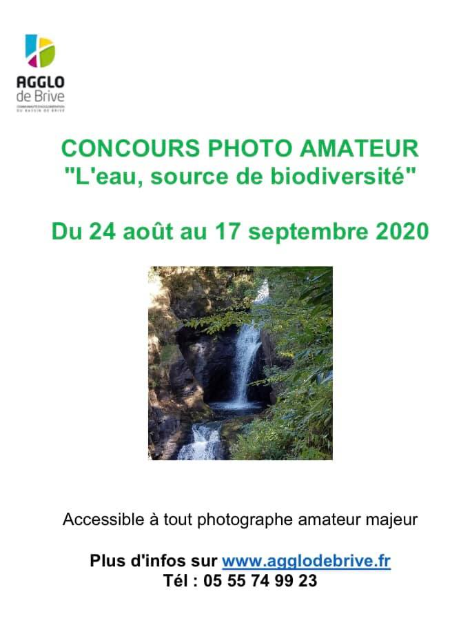 """Concours photo de l'Agglo de Brive sur le thème de """"l'eau, source de biodiversité"""""""