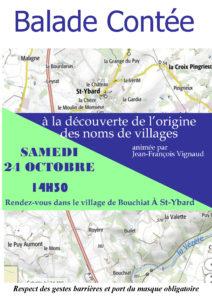 balade contée à l'origine des noms de village
