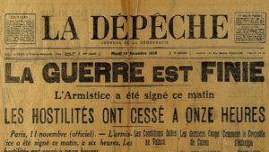 commémoration 11 novembre Mairie Saint-Solve